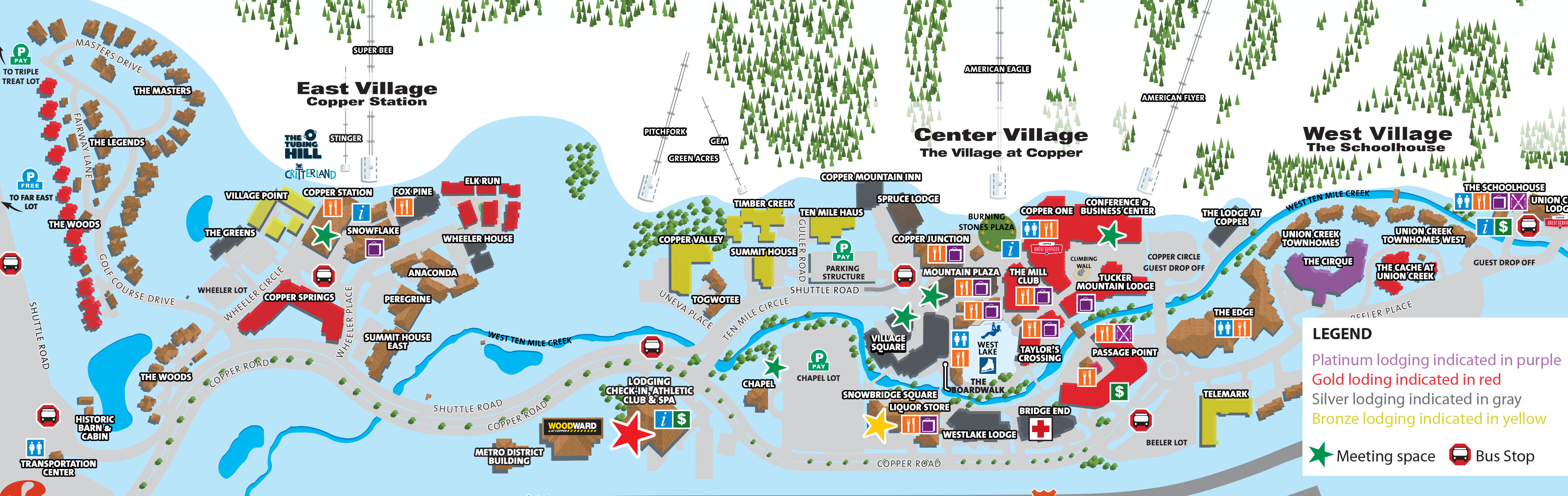View Group Lodging Map Mountain View2