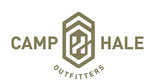 logo for camp hale outfitters