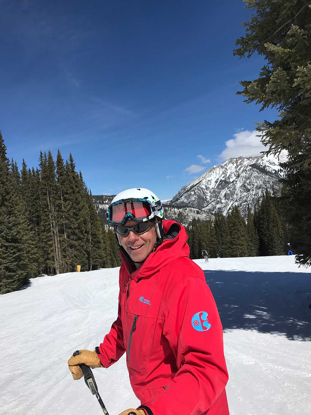 Instructor Dennis Meeker of Copper's Ski and Ride School