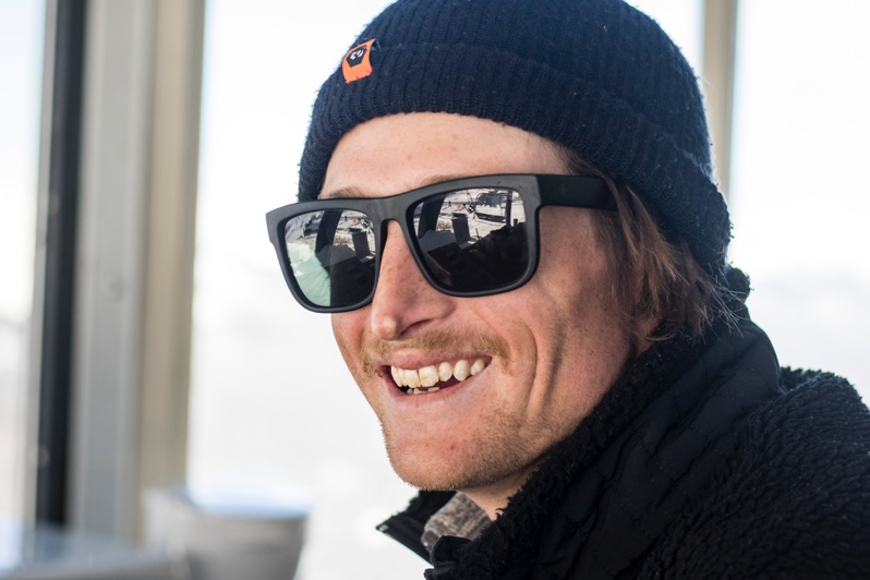Photo of Jack Mechem, a lift operator at Copper Mountain