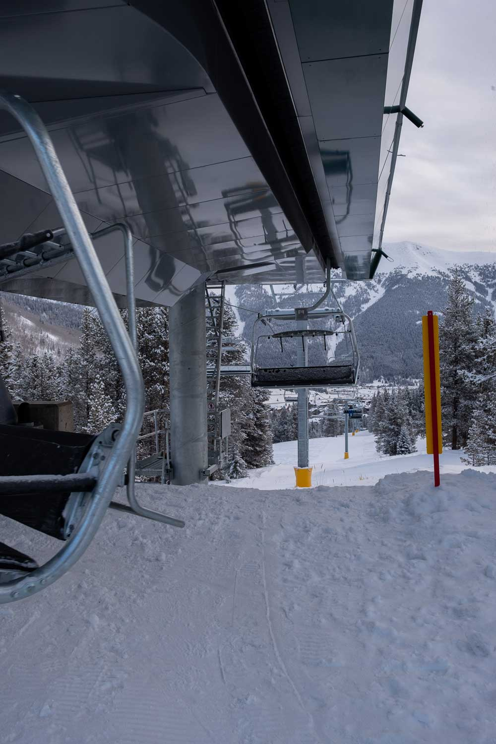 A look at the Kokomo Express lift at Copper Mountain